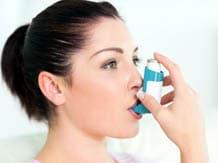 Ashtma patient image via Shutterstock