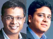 Sachin Bansal & Binny Bansal