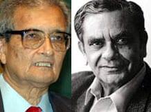 Amartya Sen & Jagdish Bhagwati