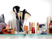 Personal care products image via Shutterstock.