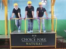 Ranapratap Brahma, Anabil Goswami & Arindom Hazarika, co-founders of Arohan Foods