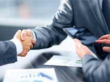 The deal maker image via Shutterstock.