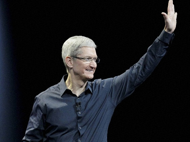 Apple CEO Tim Cook (File photo)