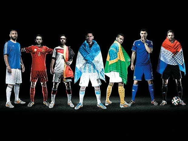 adidas football athletes