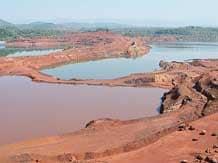 Sesa Sterlite iron ore mine