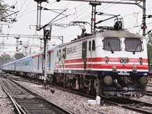 semi-high-speed New Delhi-Agra test train