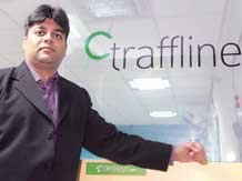Ravi Khemani,  co-founder & director of Traffline,