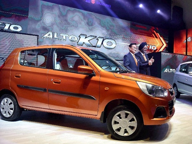 Maruti launches country's cheapest car with automatic gear shift