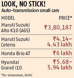 Maruti launches country's cheapest car with automatic gear