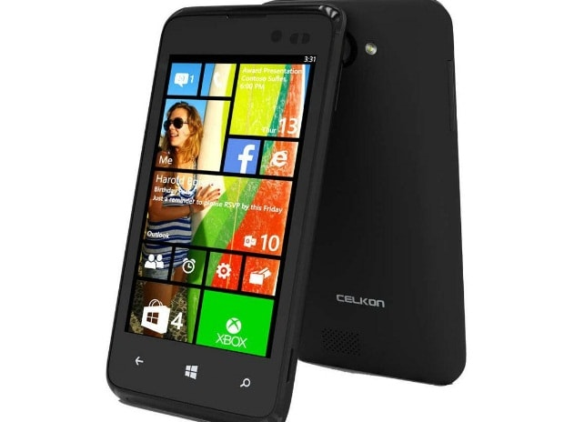 Celkon launches India's cheapest Windows phone