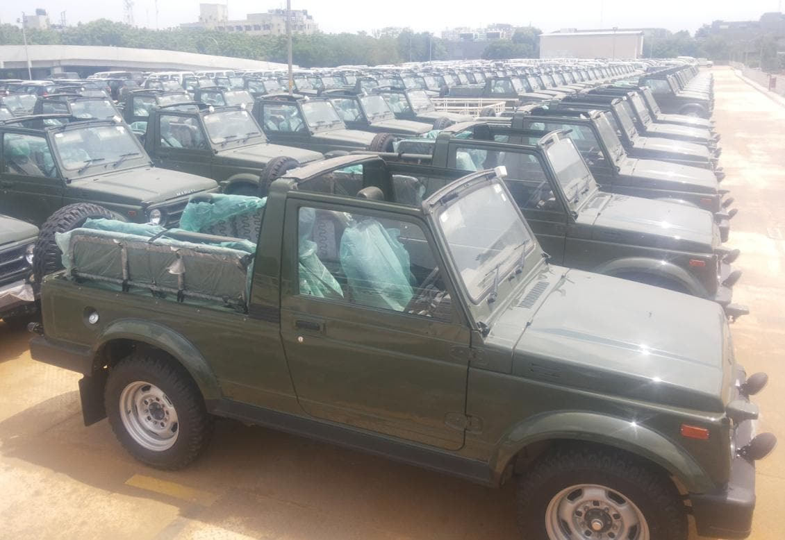 Maruti Bags 4 000 Gypsy Order From Army Business