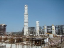 Reliance's on-going refinery project at Jamnagar