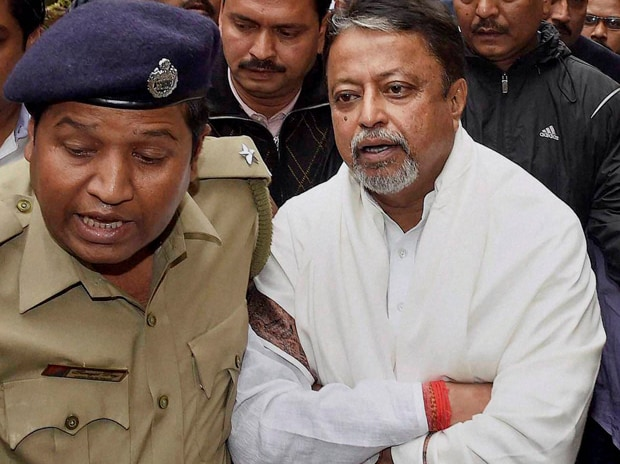 Mukul Roy Picture by PTI