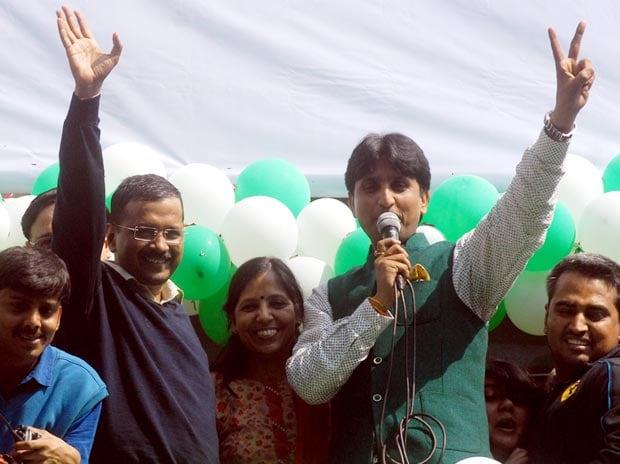 AAP, Arvind Kejriwal., Kumar Vishwas
