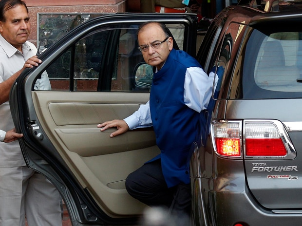 Finance Minister Arun Jaitley