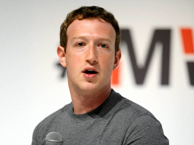 Facebook CEO Mark Zuckerberg speaking at the World Mobile Congress in Barcelona, Spain, Monday, March 2, 2015 Picture by  AP/PTI