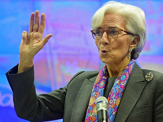 Christine Lagarde, MD, International Monetary Fund. PTI photo. File photo