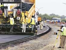 Land acquisition for roads on fast track; 49% projected