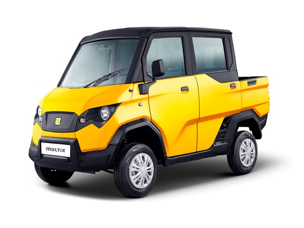 Powered by a small diesel engine the extremely stylish Multix is a purpose-built and specially designed personal utility vehicle targeted at independent businessmen