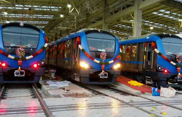 Cabinet approves Rs 3,770 crore Chennai Metro Phase-I project