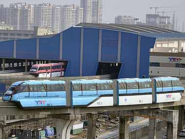 Mumbai Monorail train catches fire; no casualties, but services shut