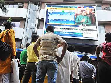 Sensex up nearly 100 points; TCS up 2%
