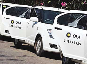 Ola to invest Rs 5,000  cr in leasing arm, add 100,000 cars by 2016