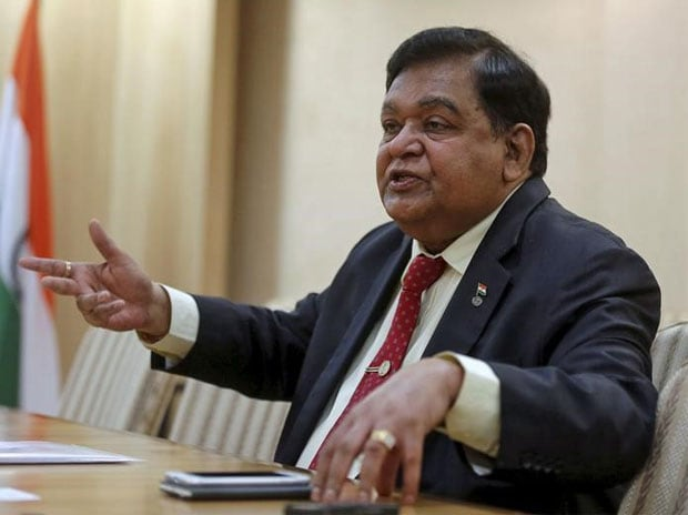 A M Naik, group executive chairman of Larsen & ...
