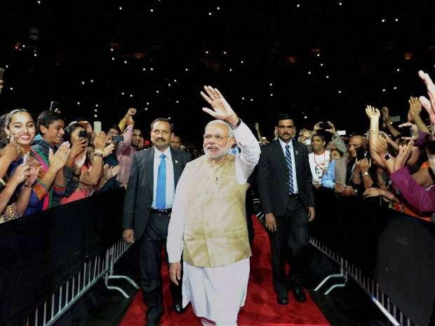 Narendra Modi, SAP Centre