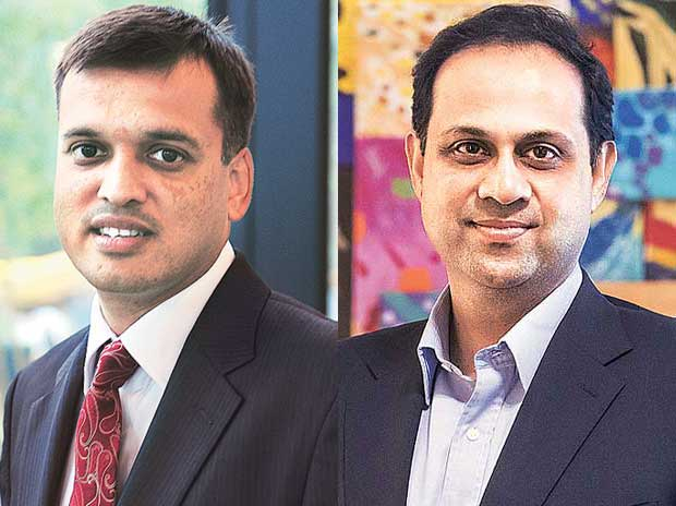 Rajeev jain, MD & Sanjiv Bajaj, Vice-Chairman, Bajaj Finance