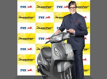 TVS Motor ropes in Amitabh Bachan as brand ambassador for TVS Jupiter