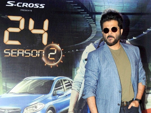 Bollwood Actor Anil Kapoor unveils the poster for TV show 24, Season 2 in Mumbai