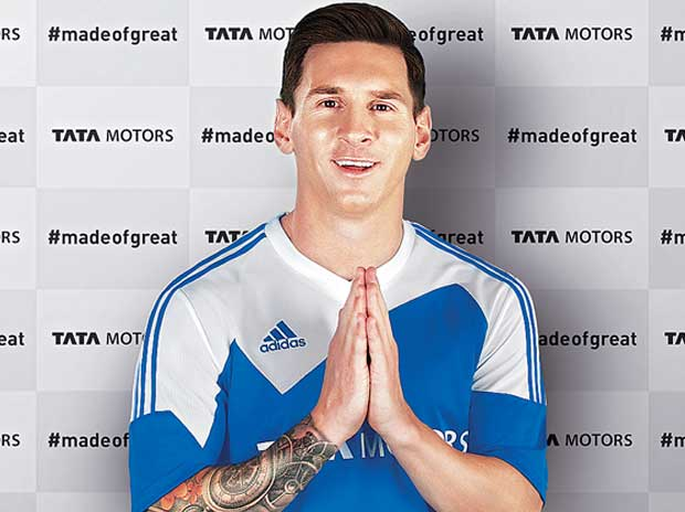 Tata Motors nets Lionel Messi as brand ambassador
