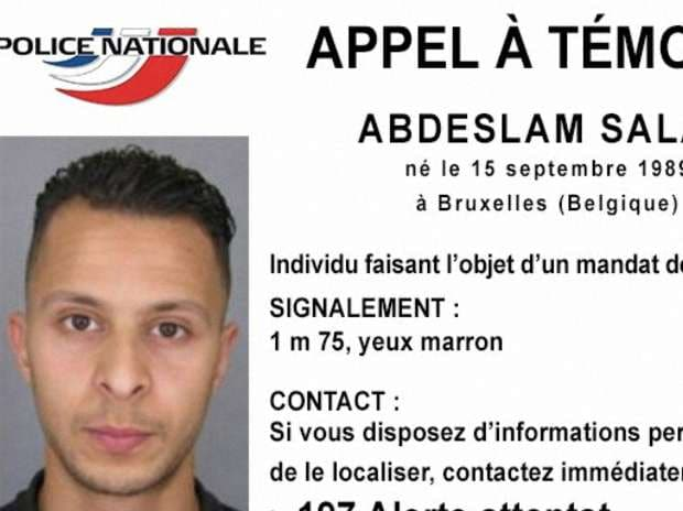 Salah Abdeslam, Paris attack
