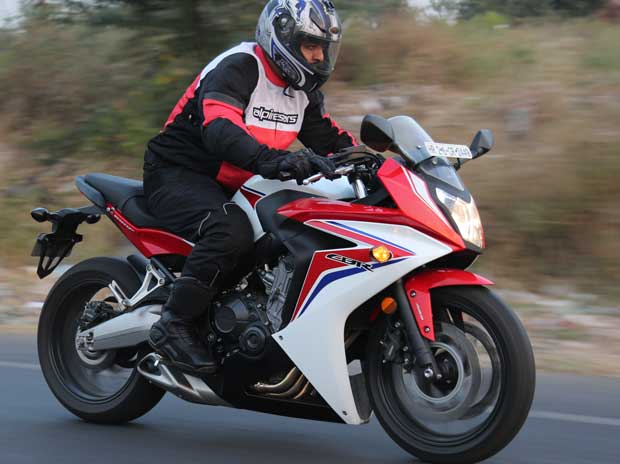 On the wild side with the Honda CBR 650F
