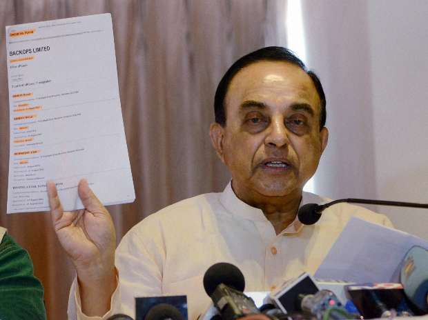 Send Rajan back to Chicago if  you want to see India's economic growth at 10%: Subramanian Swamy - Business Standard