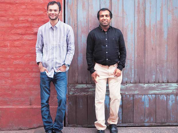 Cube26 co-founders Saurav Kumar and Abhilekh Agrawal