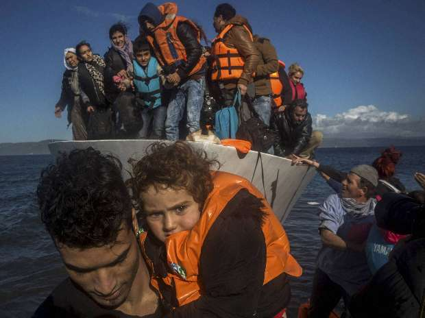 Migrants, Turkey, Refugee, Greek island