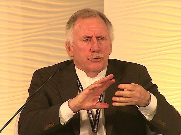 File photo: Ian Chappell speaking at HT Leadership Summit 2015. (Photo Credit: Twitter)