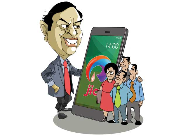 Reliance Jio's beta launch kicks off with employees, family