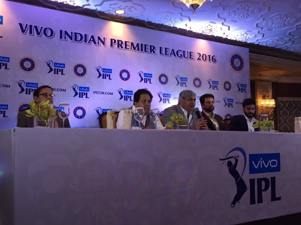 A file photo of the new owners along with BCCI officials (pic courtesy: IPL Twitter account)