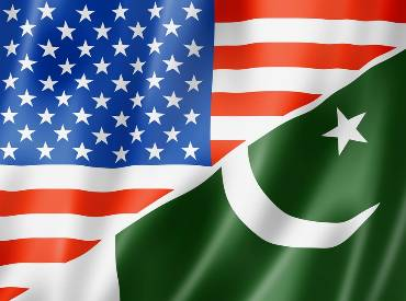 US, Pakistan Flag