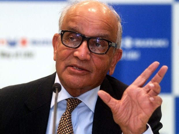 R C Bhargava, chairman, Maruti Suzuki, interacting with media during a press conforence in New Delhi (Pic: Dalip Kumar)