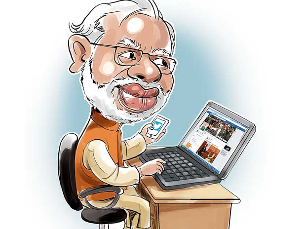 Off day doesn't figure in Modi's lexicon