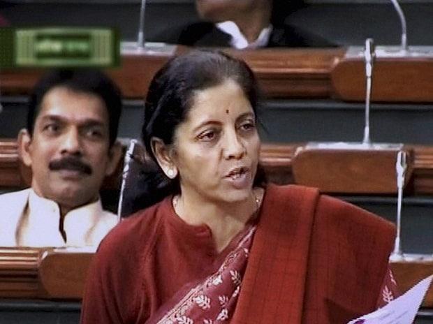 Commerce and Industry Nirmala Sitharaman speaks in the Lok Sabha in New Delhi (File Photo)