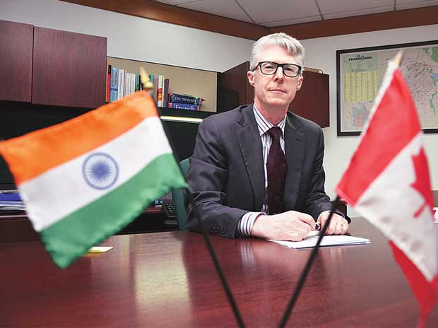 Christopher Gibbins, Consul general, Canadian High Commission, Chandigarh