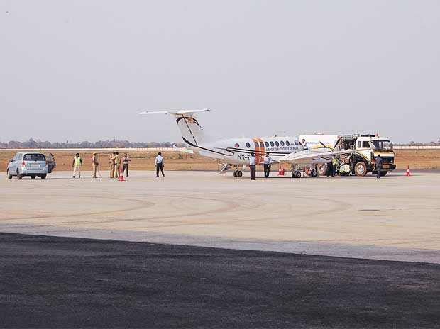 Durgapur airport draws traffic with flight to Delhi
