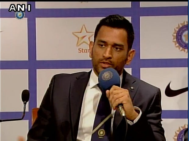 Mahendra Singh Dhoni  (Photo: ANI)