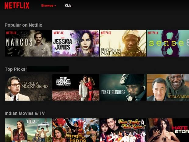Netflix blocks India access to  global content - Business Standard