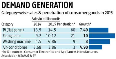 Govt reforms could benefit consumer durables firms in '16